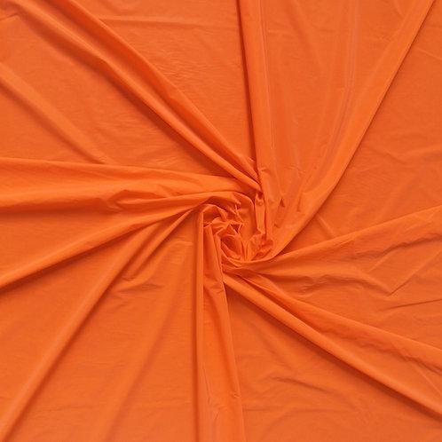Orange Iridescent Reflective WOVEN Fabric