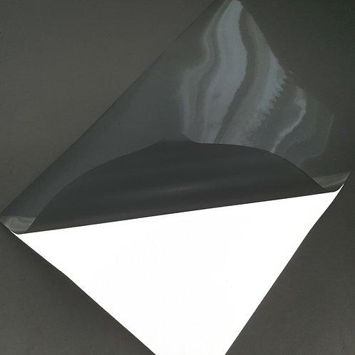 Reflective Silver Heat Transfer Film - Iron on