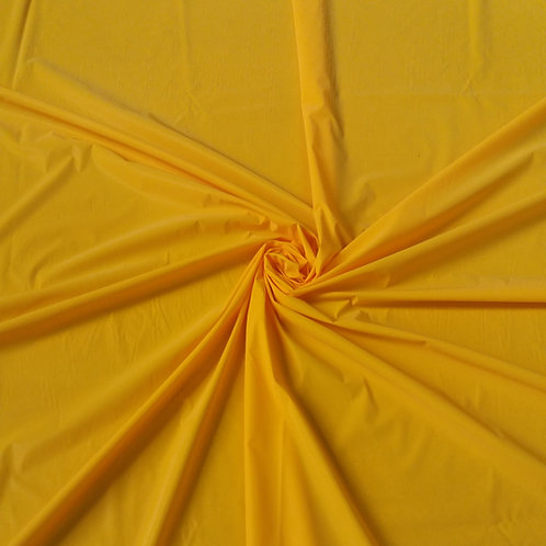 Amber Yellow Iridescent Reflective WOVEN Fabric