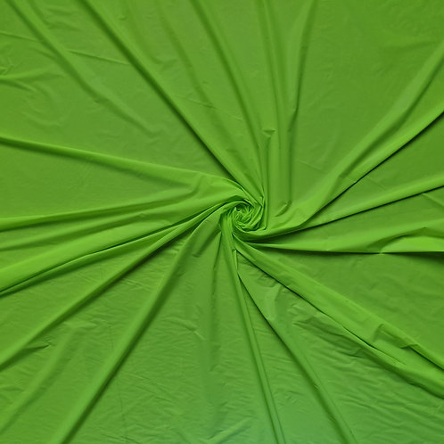 Neon Green PL Iridescent Reflective Fabric