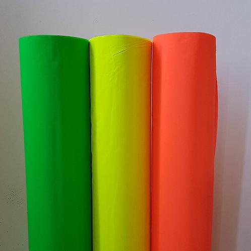Neon Reflective WOVEN fabrics, Cotton-Rich