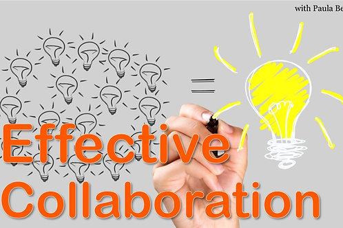 September 2021 - Effective Collaboration