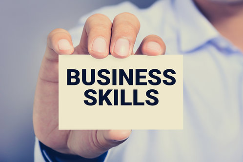 July 2021 Webinar - Successful Business Skills