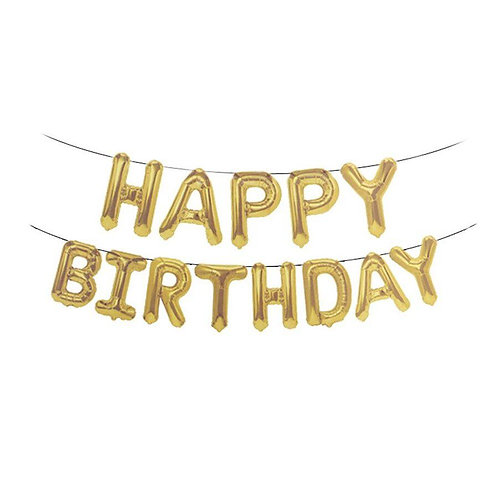 happy birthday סט בלונים
