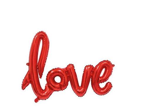 מלייר אדום LOVE בלון