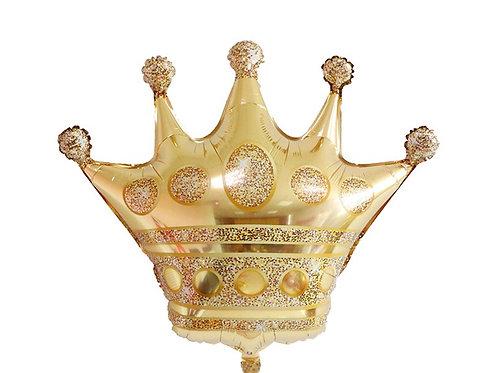 בלון כתר זהב ענק