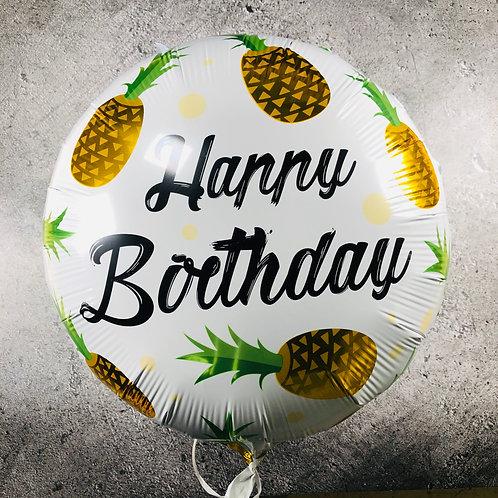 בלון עגול - Happy birthday