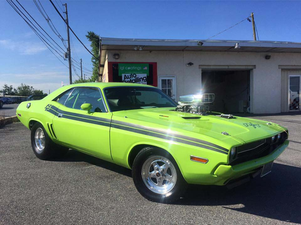 Clean up that old muscle car!
