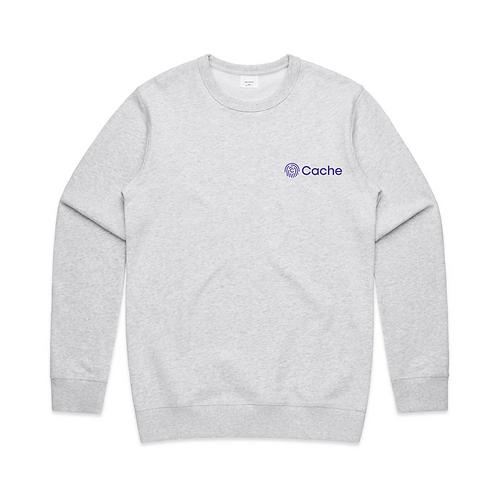 Cache Crewneck Sweatshirt -White