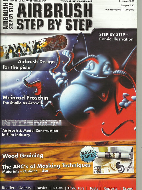 AIRBRUSH STEP BY STEP 1/2011