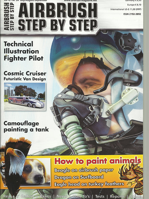 AIRBRUSH STEP BY STEP 3/2012