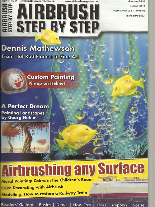AIRBRUSH STEP BY STEP 4/2011