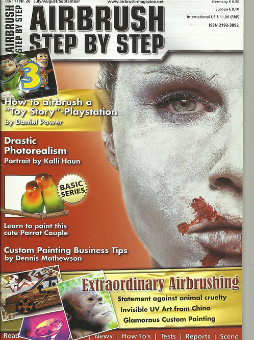 AIRBRUSH STEP BY STEP 3/2011