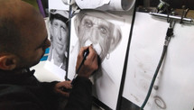 Creando Retrato Keith R.