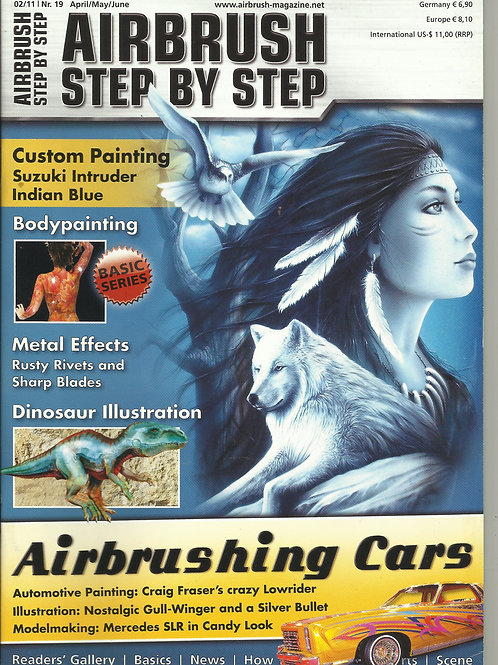 AIRBRUSH STEP BY STEP 2/2011