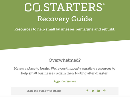 CO.Starters Recovery Resource Guide
