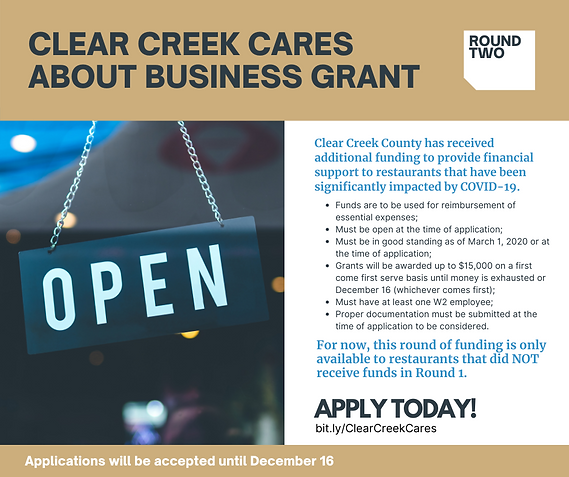 CLEAR CREEK CARES ABOUT BUSINESS GRANT.p