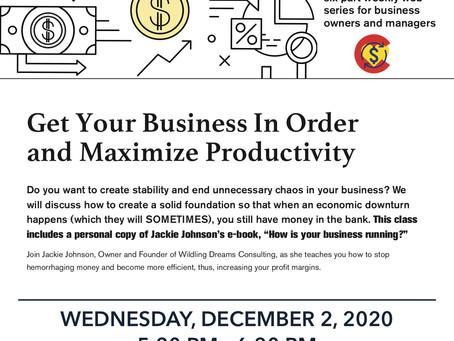 WEEK 3: COVID-19 Strategic Business Practices Web Series