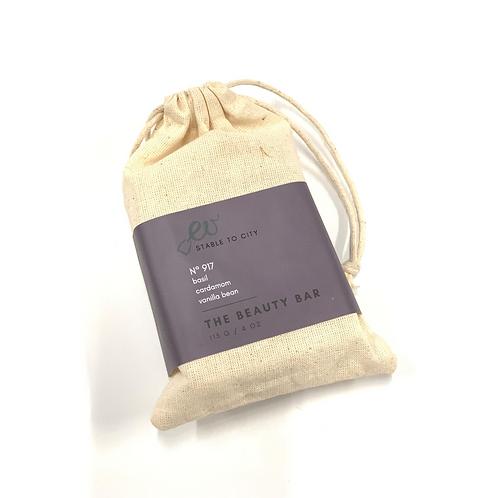 THE BEAUTY BAR - No 917 - basil | cardamom | vanilla bean
