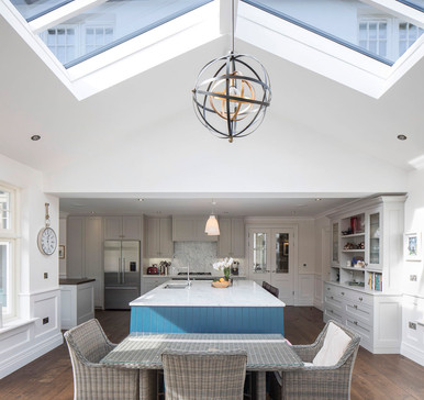Castleknock  house kitchen and dining area