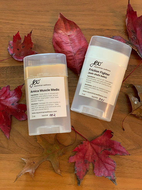 ARNICA MUSCLE MEDIC + FRICTION FIGHTER ANTI-CHAFE