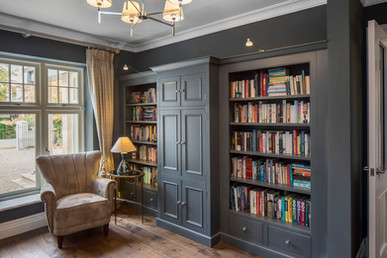 Castleknock  house library joinery