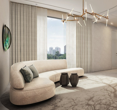 Residential house ante room