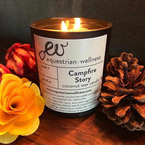 CAMPFIRE STORY   Coconut Wax Candle