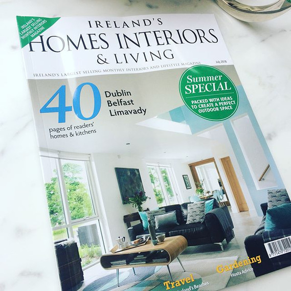 Our completed Castleknock house project appears in July 18 issue of IHIL