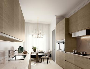 Moscow residential development kitchen