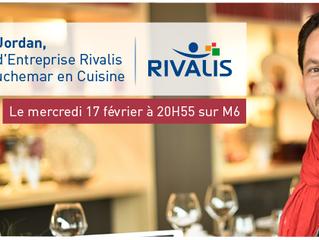Rivalis, Partenaire Production et Fournisseur d'Expertise interne de Cauchemar en Cuisine, accompagn