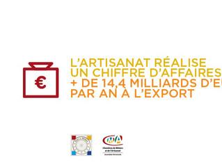 BELLE PERFORMANCE DE L'ARTISANAT A L'EXPORT