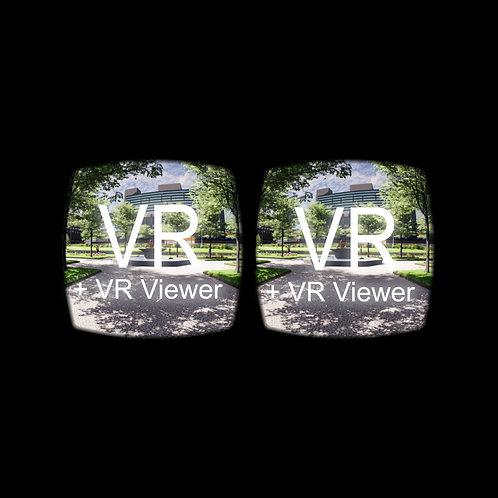 VR: Piccadilly Gardens, Manchester + VR Viewer