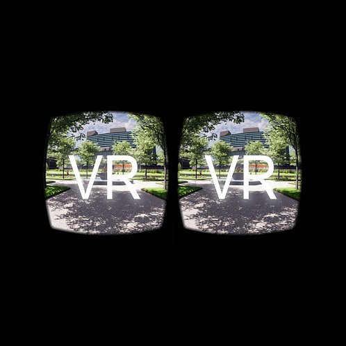 VR: Piccadilly Gardens, Manchester