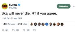 Ska will never die.