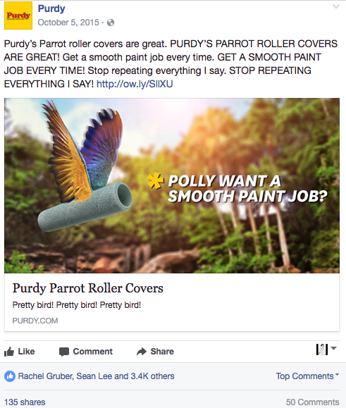 Purdy Parrot