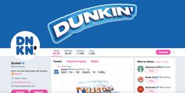 Dunkin' Header/Avatar