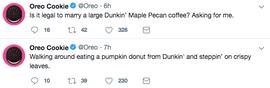 OREO Swapped Tweets
