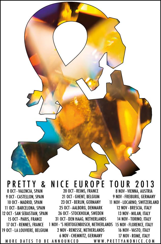 Pretty & Nice Euro Tour Flyer