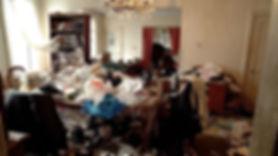 Hoarding Dining Room