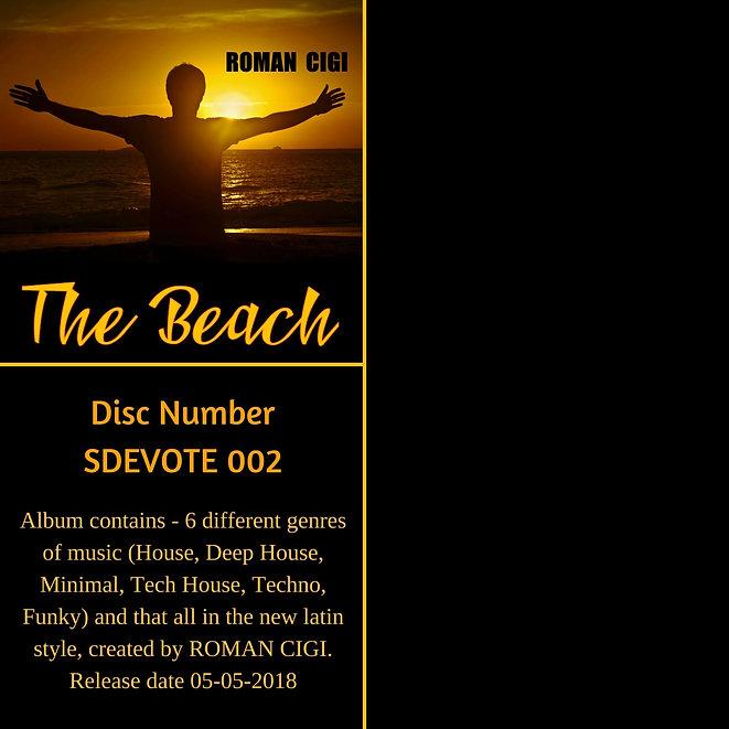 ROMAN CIGI - The Beach (Web Album Cover)