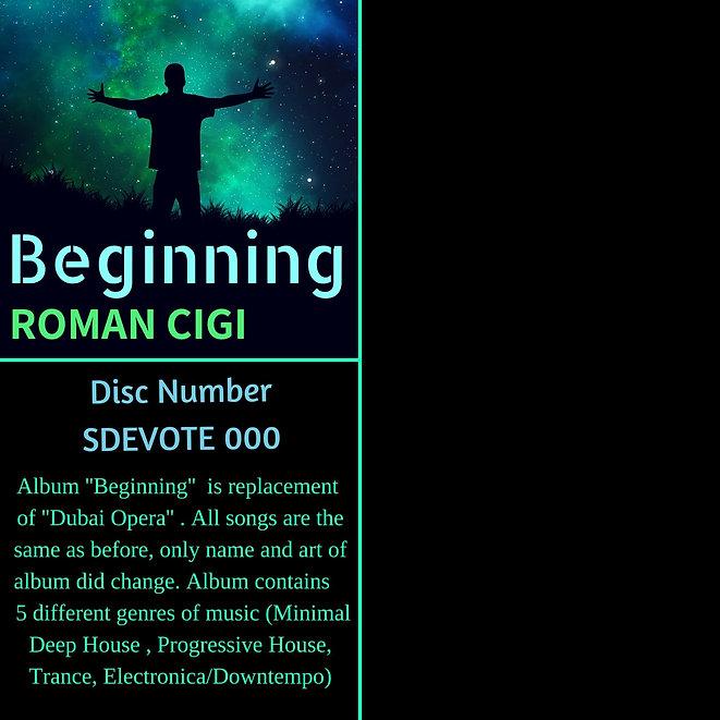 ROMAN CIGI - Beginning (Web Album Cover)