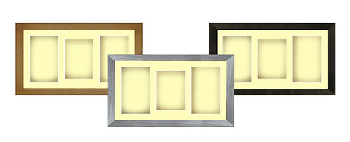 """15"""" x 9"""" Shadow Box Frame with Ivory Mount"""