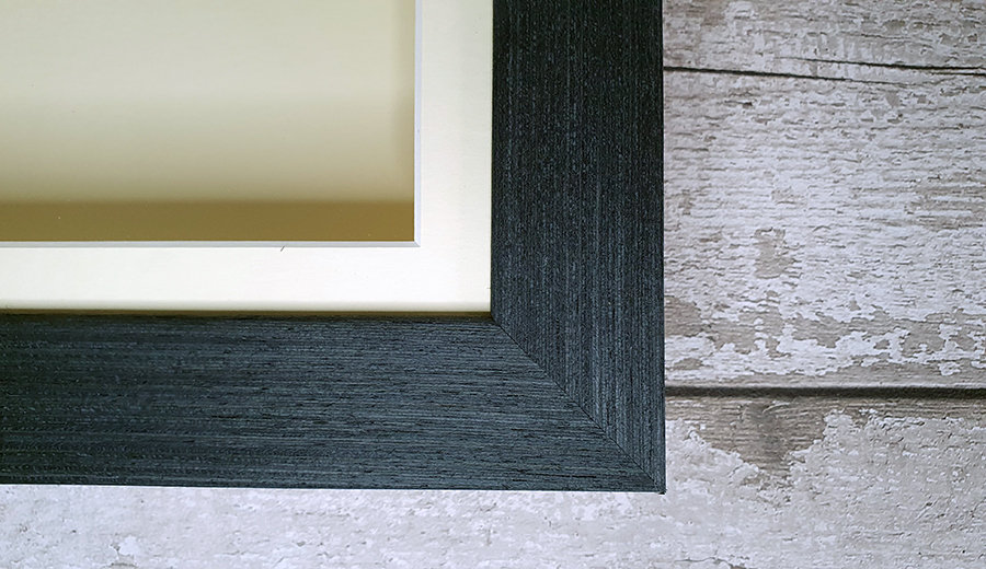 Close up of Picture Frame corner join