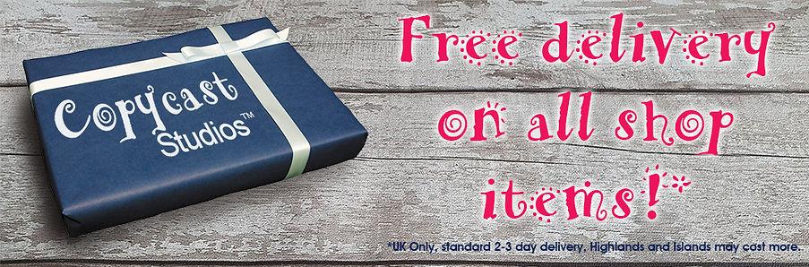 Free Delivery at Copycast Studios
