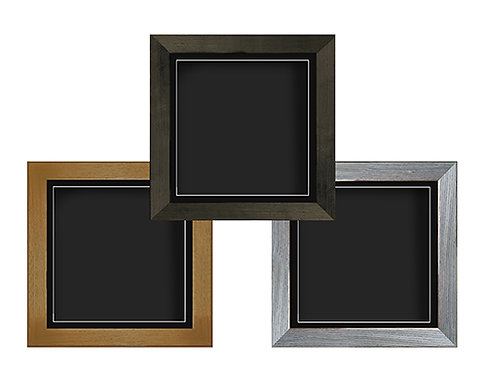 Square Shadow Box Frame with Black Mount - Various Sizes