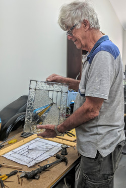 Stained glass project August 2019