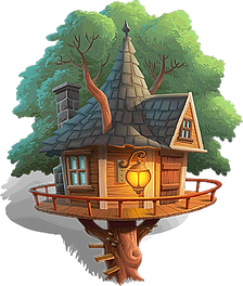 Cyril's Treehouse!