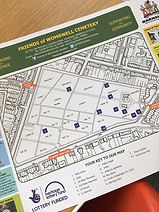 Cemetery Tour Map