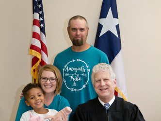 An Adoption Story:  The Bauer Family
